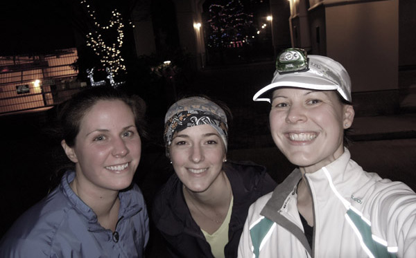 These are my new regular running chicks; both pretty freaking awesome!